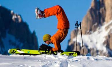 """Balancing Act,"" Aspen Peak"