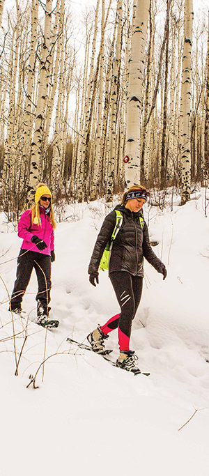 Big Adventure We Love: snowshoe & fondue in Beaver Creek, Colorado